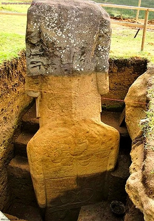 "The Easter Island ""Heads"" Have Bodies"