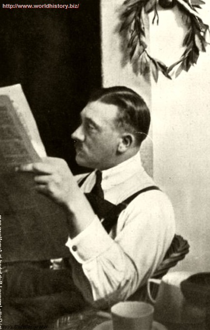 Adolf Hitler (1889 – 1945, Austrian-born German)