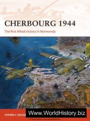 Cherbourg 1944 (Osprey Campaign 278)