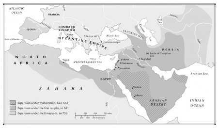 The Islamic Empire, c. 750
