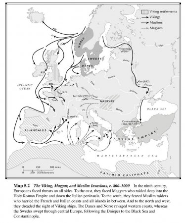 The Viking, Magyar, and Muslim Invasions, c. 800-1000