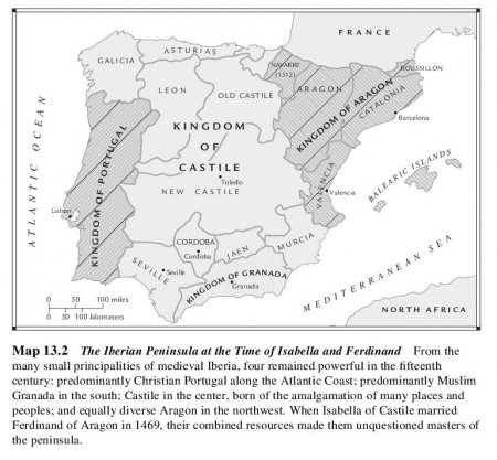 The Iberian Peninsula at the Time of Isabella and Ferdinand