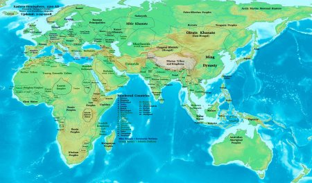 Modern History Maps   (1500 AD to Present)