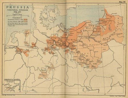 Prussia: Territorial Expansion 1648-1795