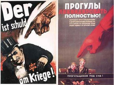 Propaganda Posters of Nazi Germany and Soviet Russia