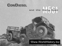 ConDiesel and the Gama Goat M561