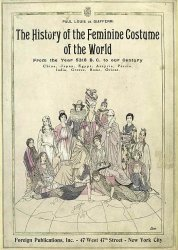 The history of the feminine costume of the world