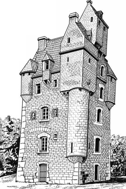 Scottish Tower House Plans House Style Ideas