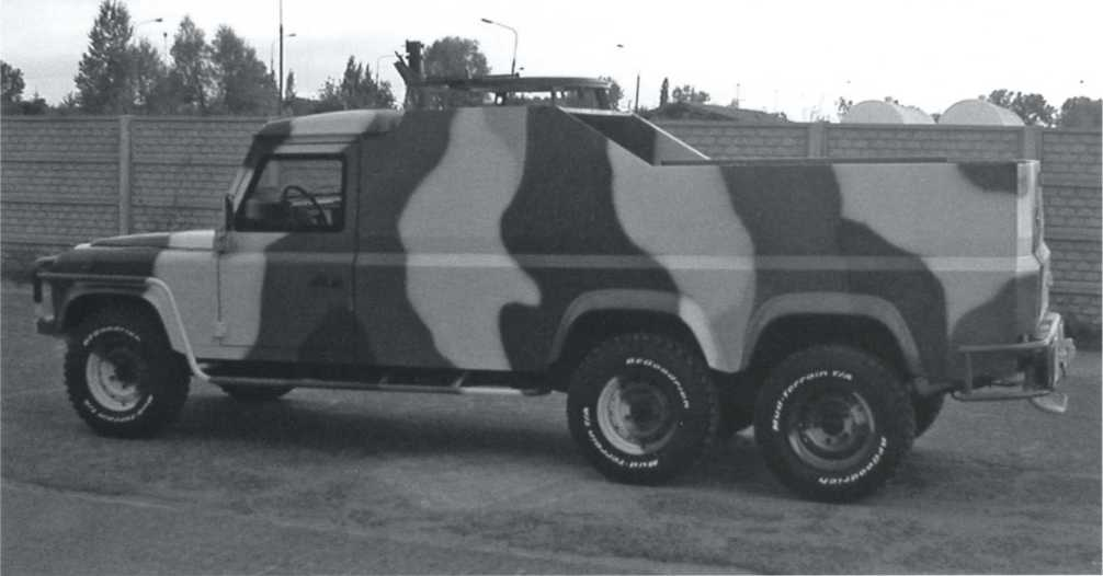 Other Armoured Land Rovers