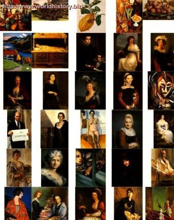 The women painters 1451-1996 (275 foto)