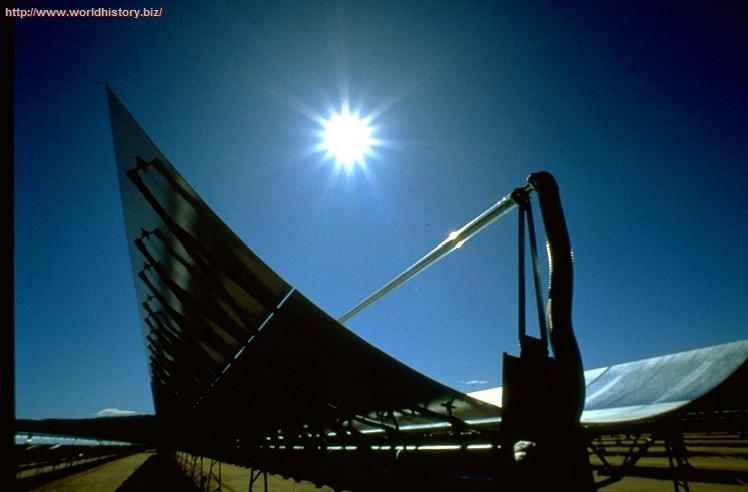 Solar Energy Reaching The Earth's Surface