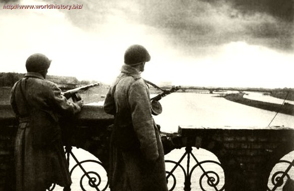 World War II. Dmitri Baltermants