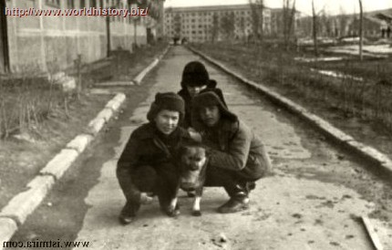 Happy Soviet childhood
