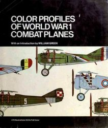 Color Profiles of World War 1 Combat Planes