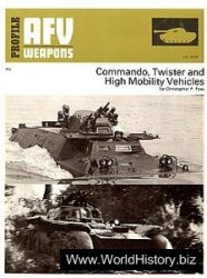 Profile AFV - Weapons Profiles 62 - Commando, Twister and High Mobility Vehicles.