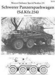 Museum Ordnance Special Number 24 Schwerer Panzerspaehwagen (Sdkfz 234)