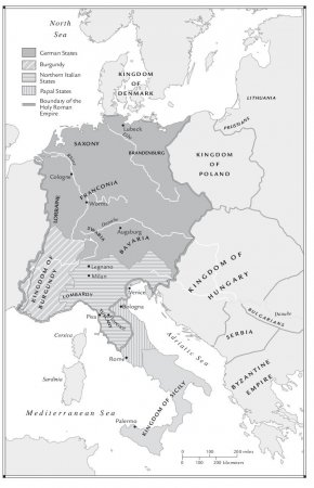 The Holy Roman Empire and the Italian Peninsula in the Central Middle Ages