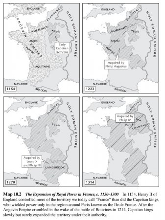The Expansion of Royal Power in France, c. 1150-1300