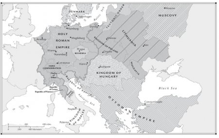 Central and Eastern Europe, c. 1490