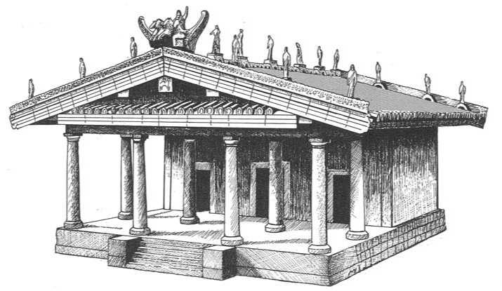 Veil And The Tuscan Temple